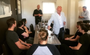 Another awesome staff wine tasting This one with megalomaniacjhc Summerhellip