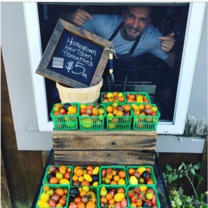 Pick up a pint or 2 of homegrown heirloomtomatoes fromhellip